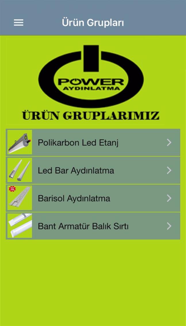 POWER AYDINLATMA