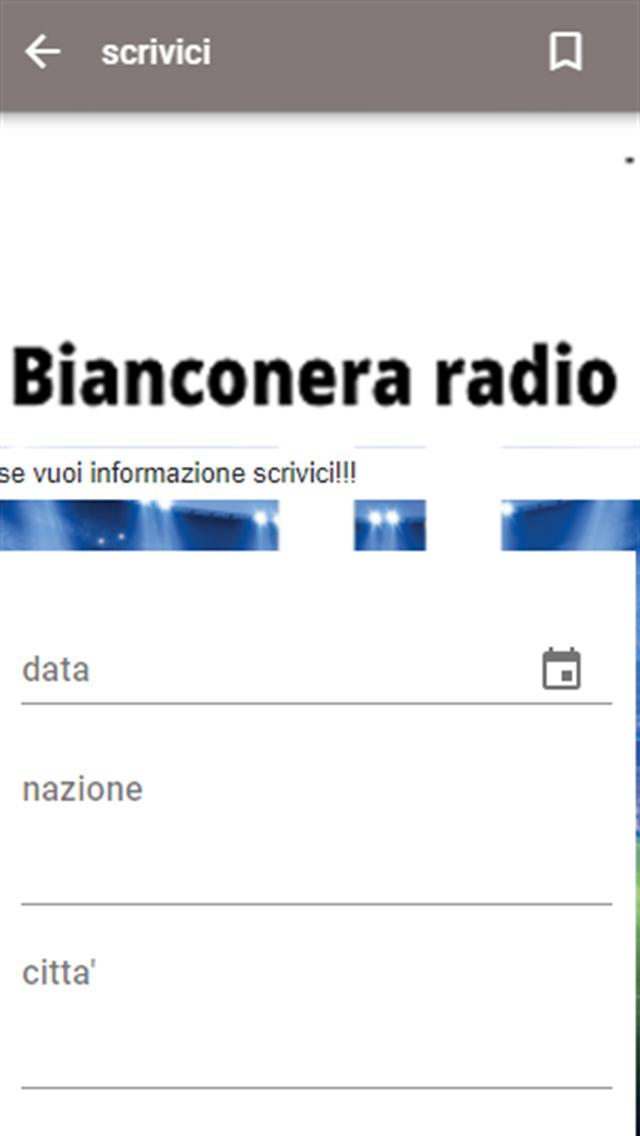 Bianconera radio