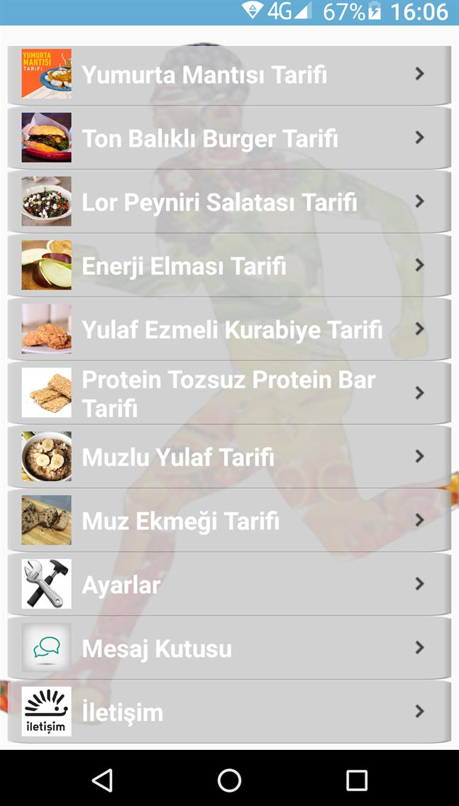 Fitness Yemek Tarifleri