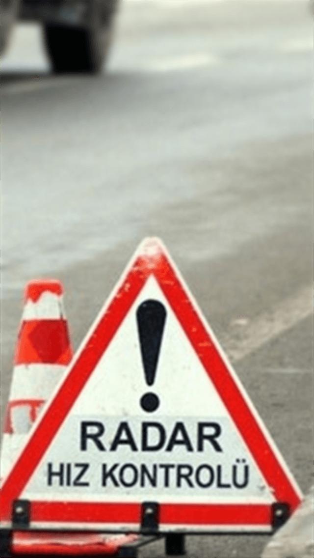 Izmir'de Çevirme Radar