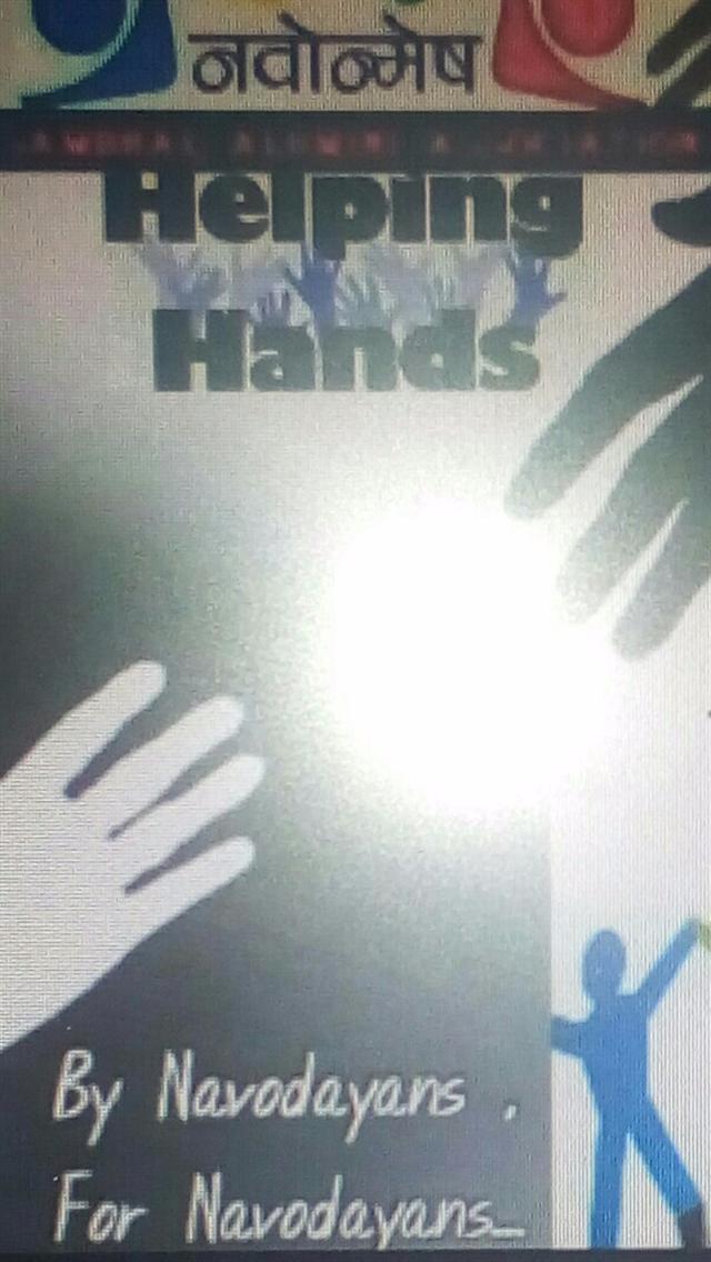 JNV HELPING HANDS