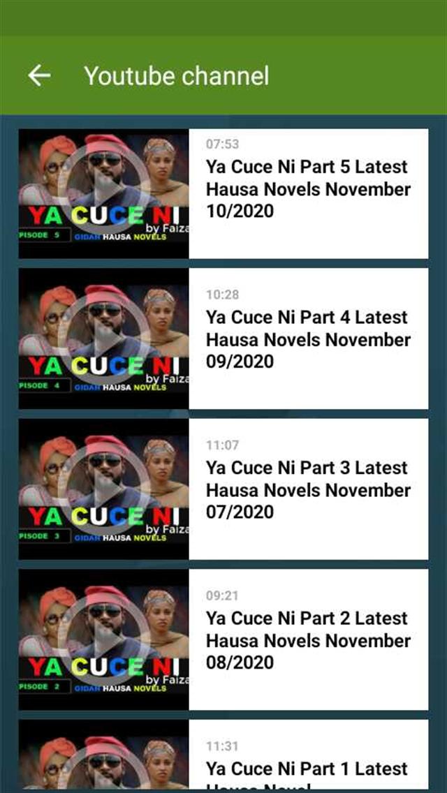 Gidan Hausa Novel