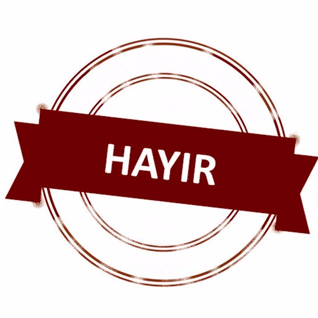 NEDEN HAYIR