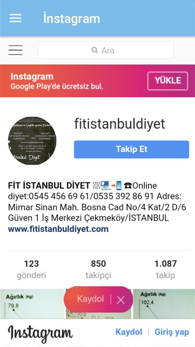 Fit İstanbul Diyet