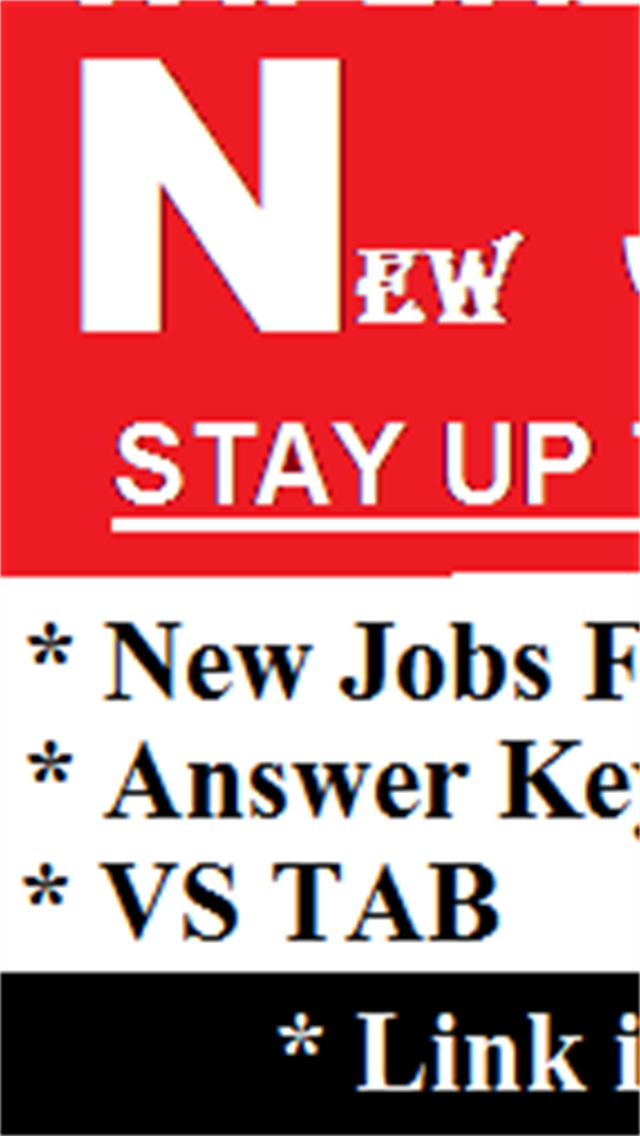 New Jobs Forms