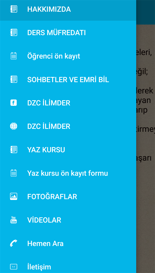 DZC iLiMDER