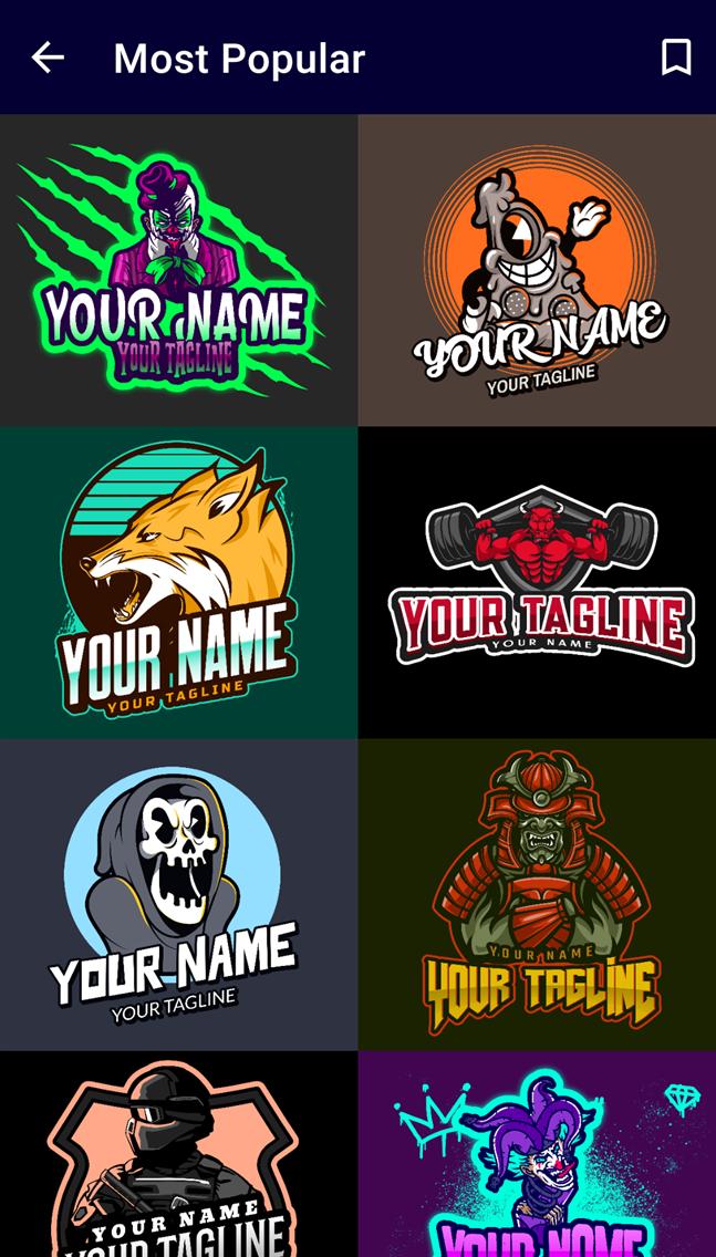 Gaming Logo Maker - KT DIGITAL
