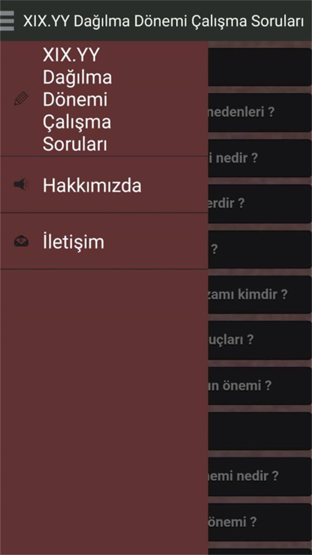 Osmanlı Dağılma Dönemi