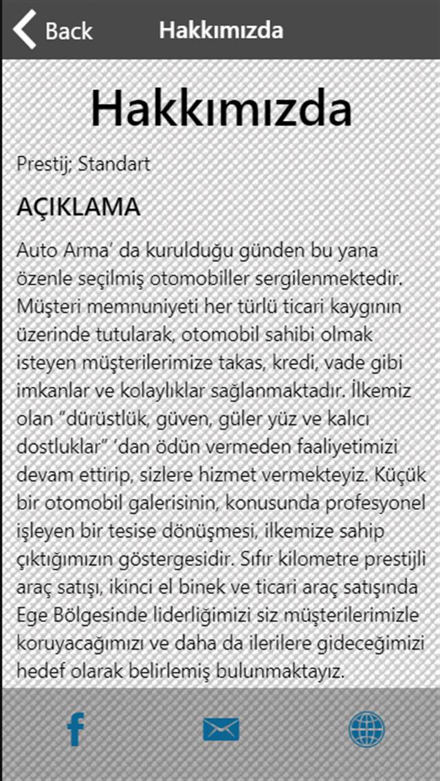 AUTO ARMA