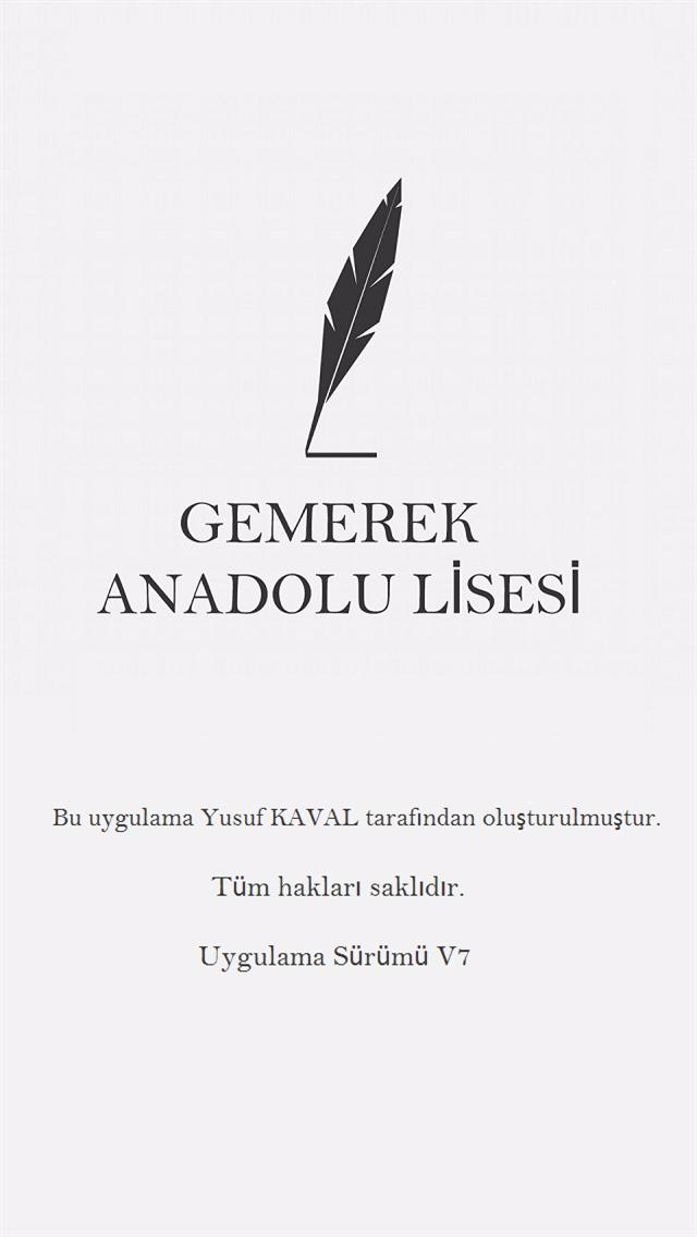 Gemerek Anadolu Lisesi