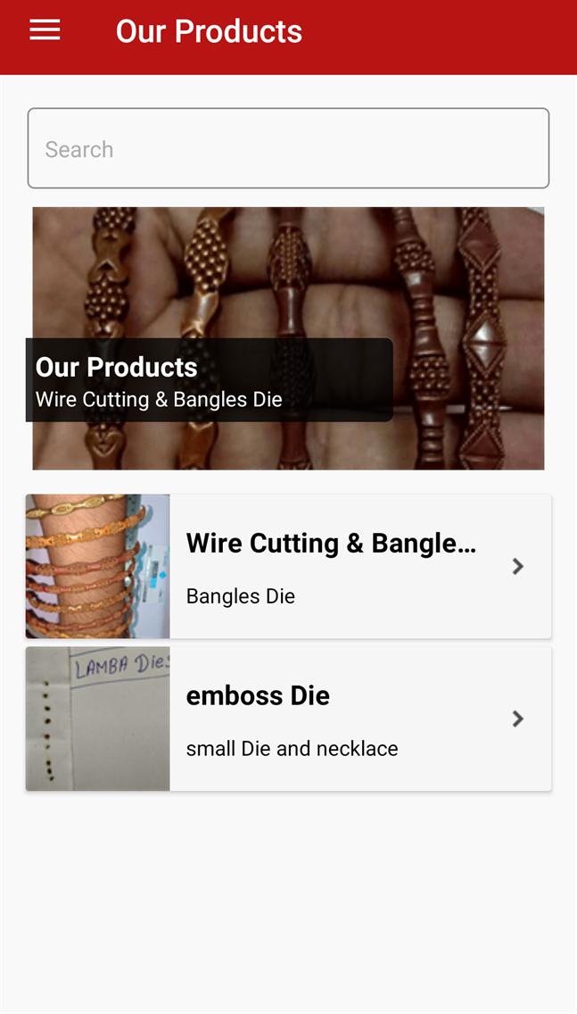 Jewellery die manufacturer  LD