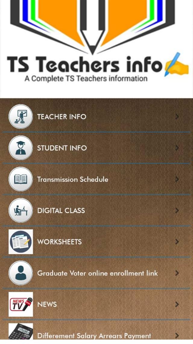 TS Teachers info