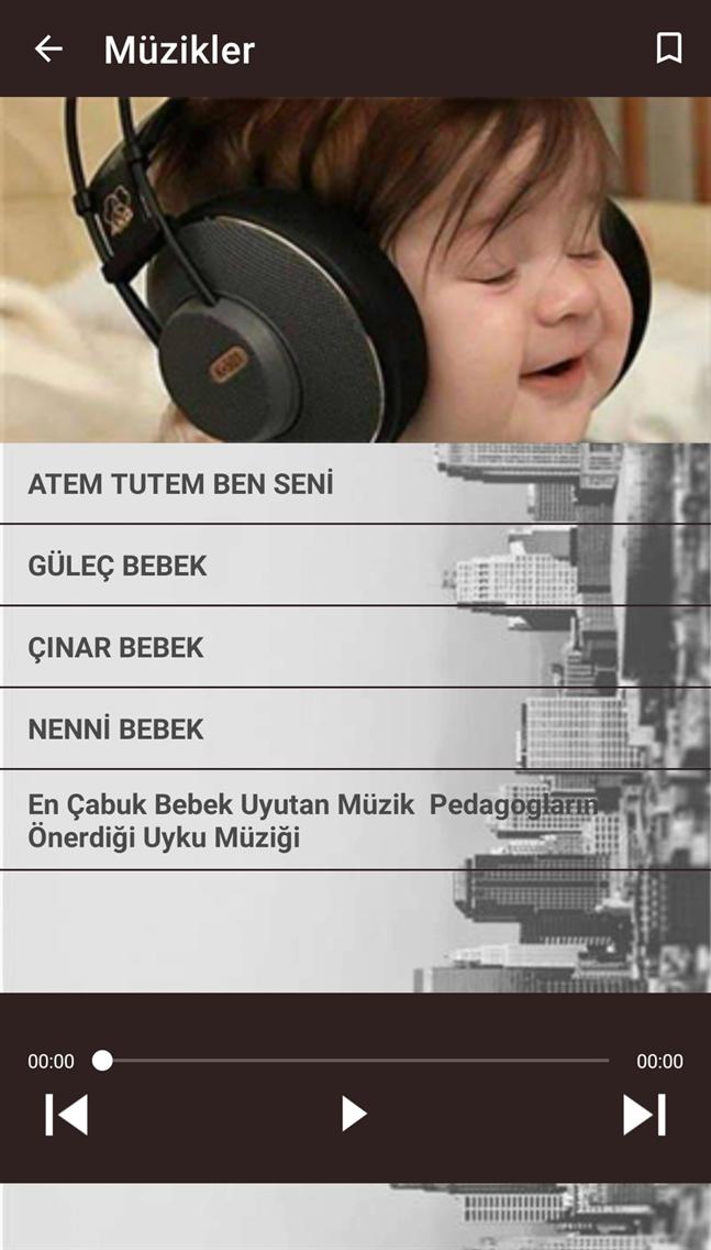 Bebek için Müzikler