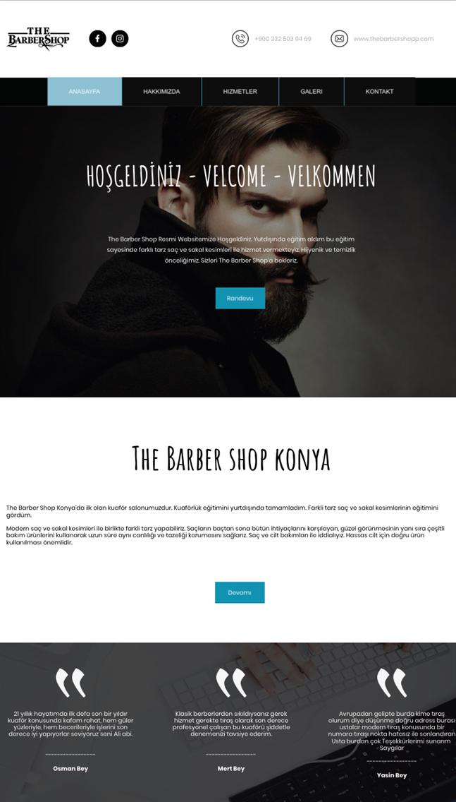 The Barber Shop Konya