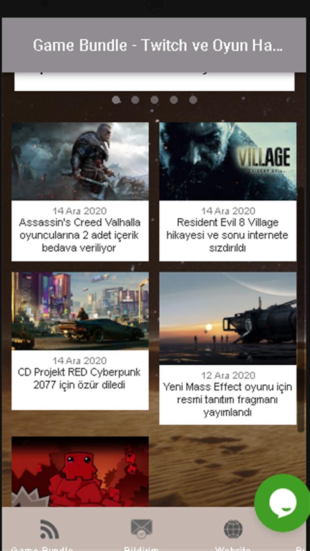 Game Bundle - Twitch ve Oyun