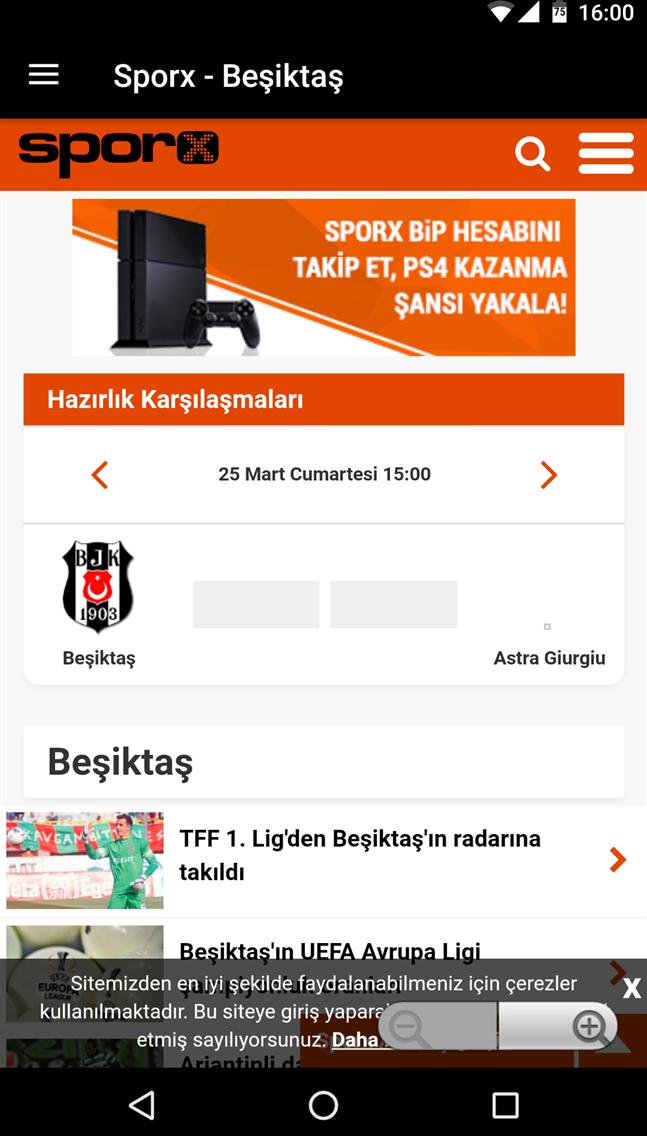 Beşiktaş Haber