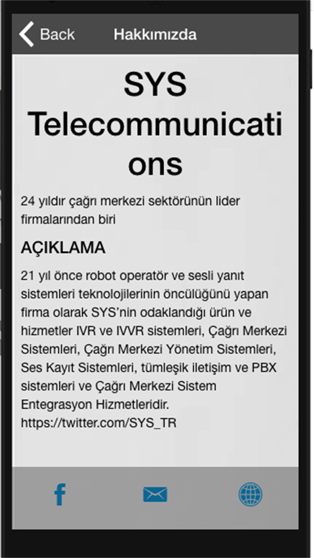 SYS Telecommunications