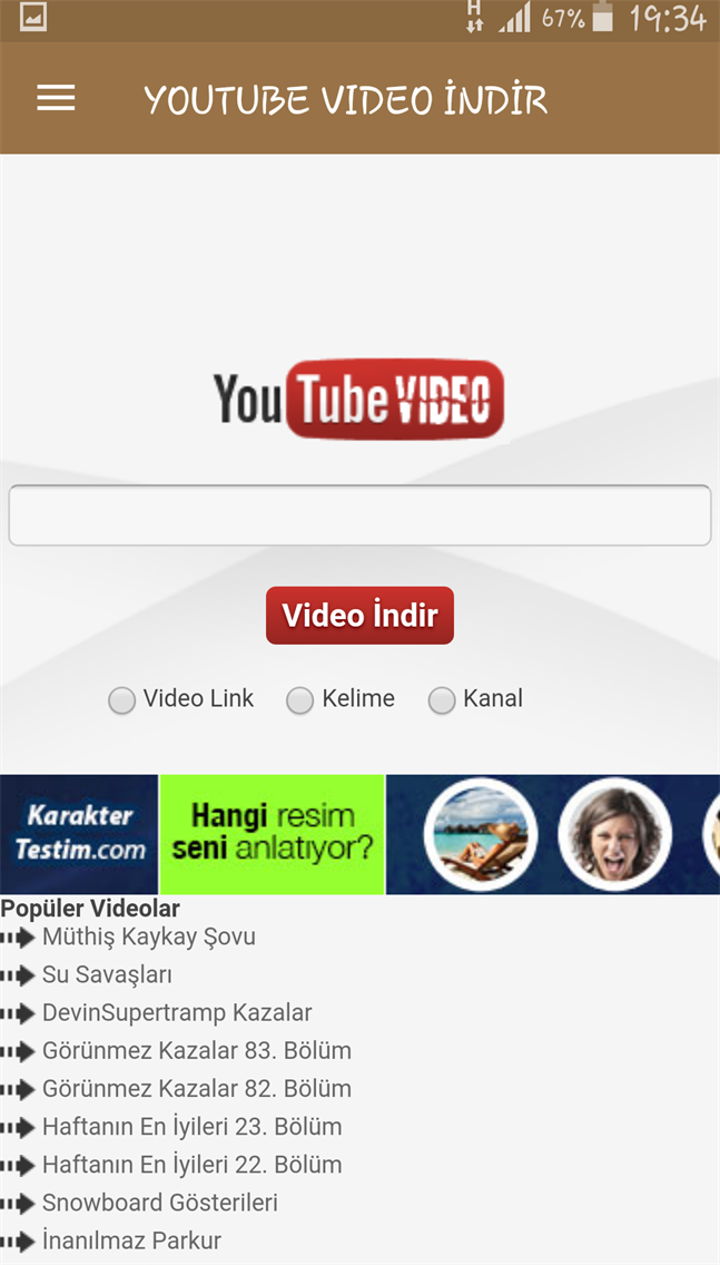 Youtube Video İndirici