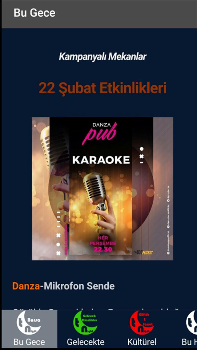 Tonight Bursa