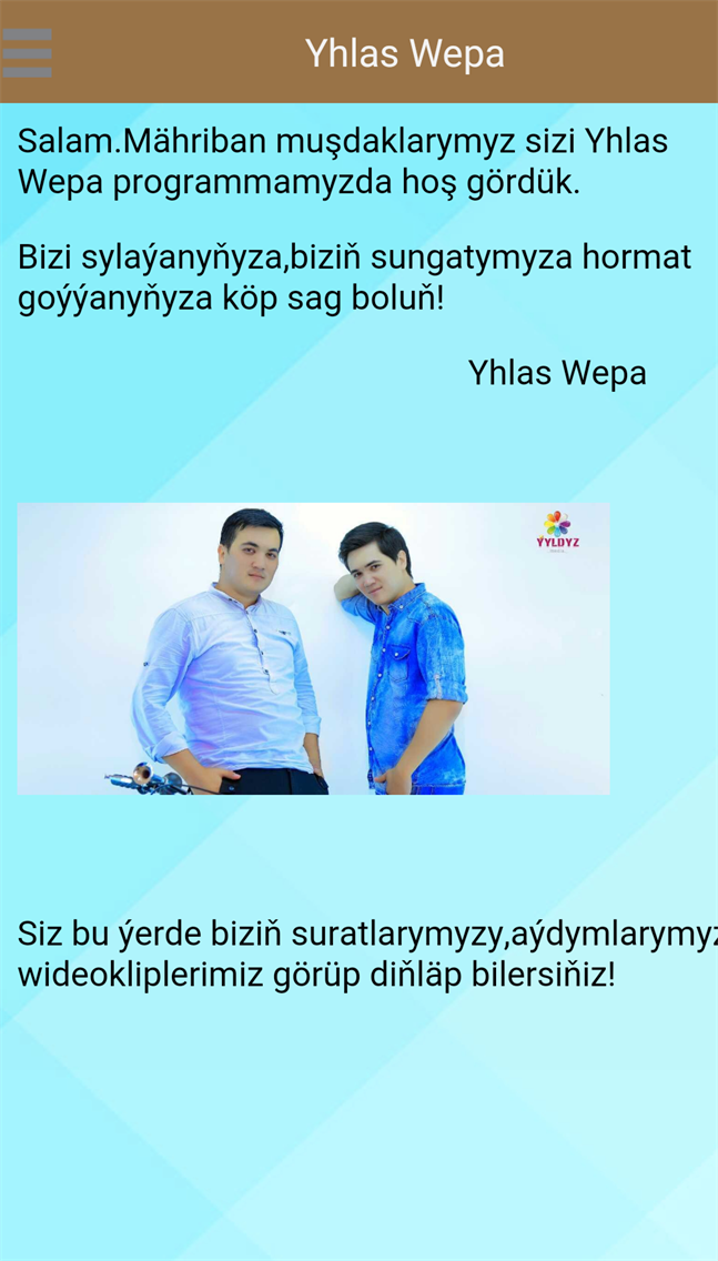 Yhlas Wepa