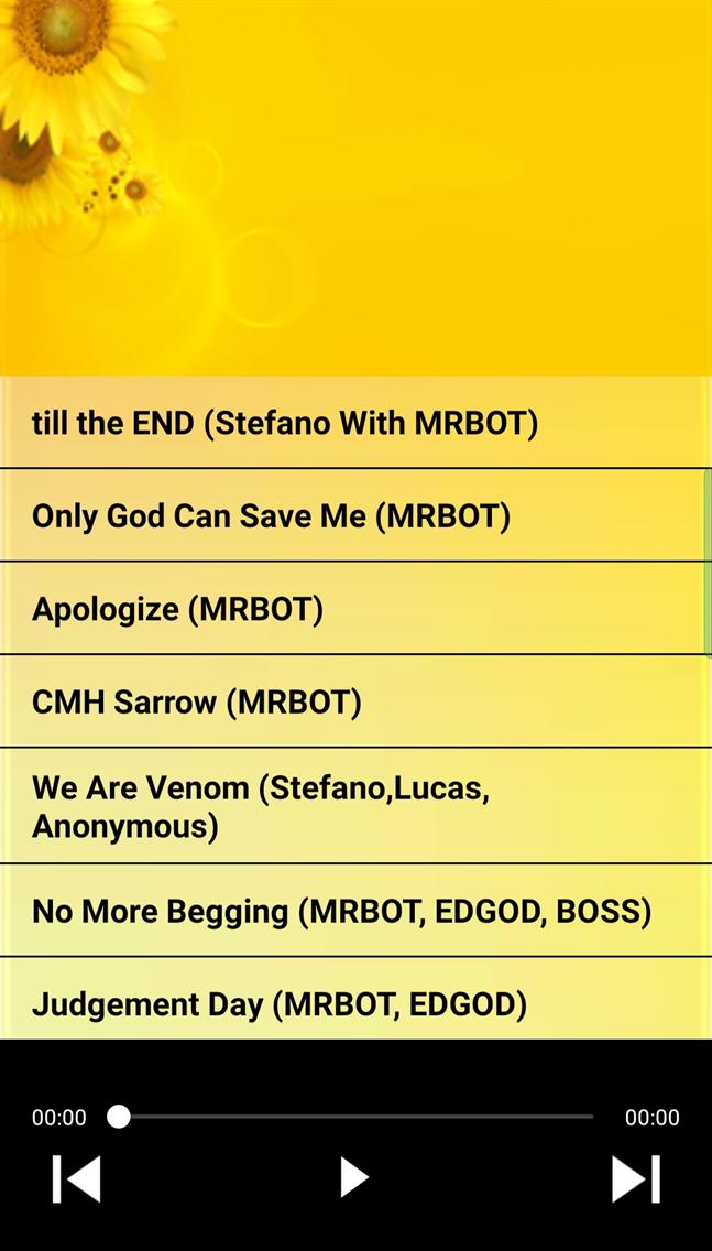 MRBOT Music