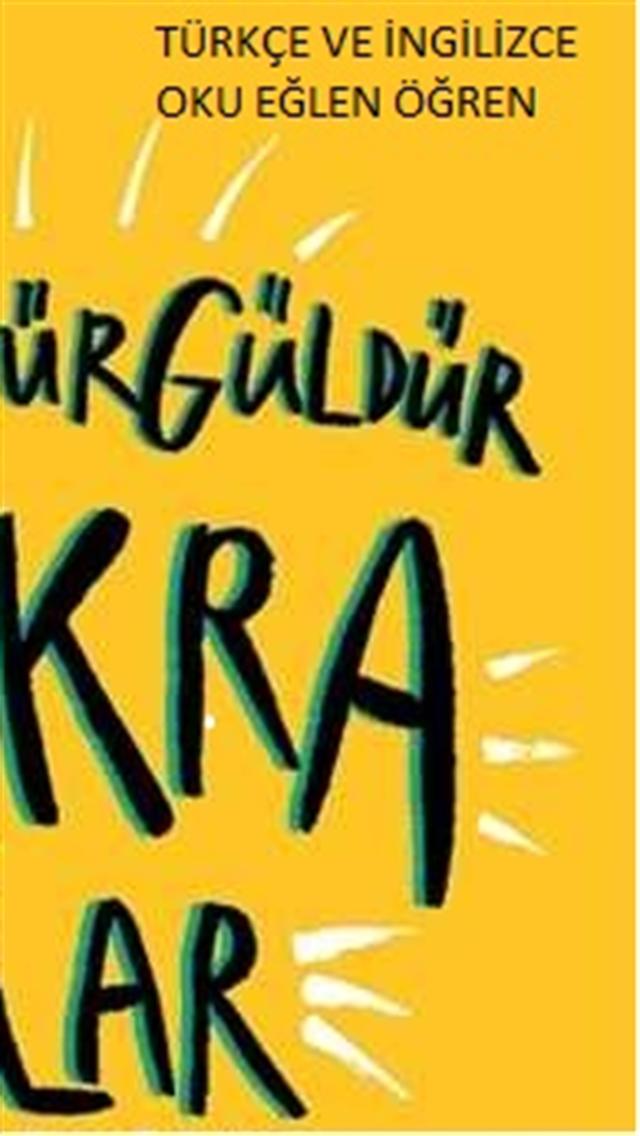 türkçe oku ingilizcesini öğren
