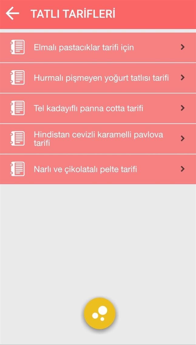 LEZZETLİ TARİFLER/GÜNÜN MENÜSÜ