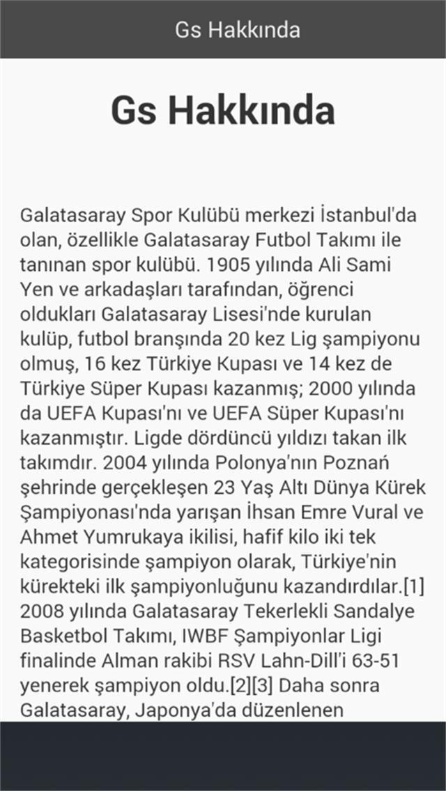 Galatasaray Haber