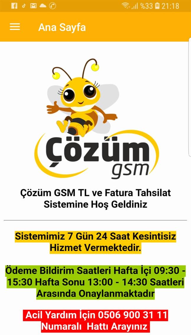 Çözüm GSM