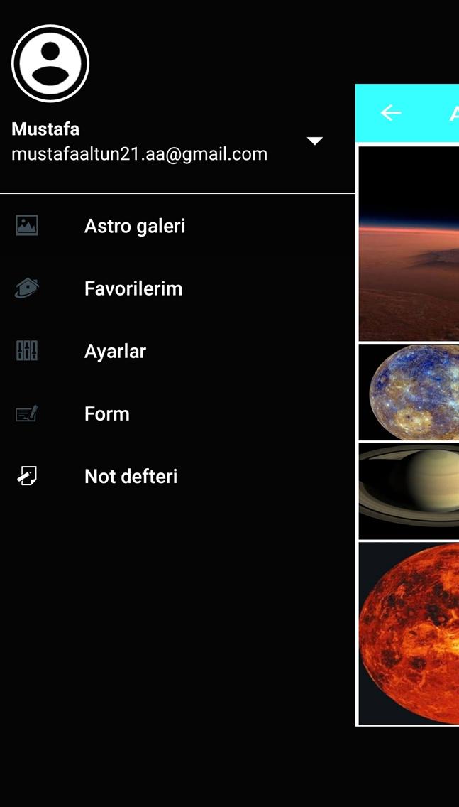 Space astarts