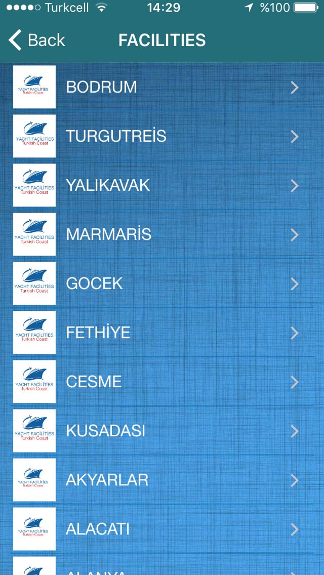 YACHT FACİLİTİES OF TURKEY