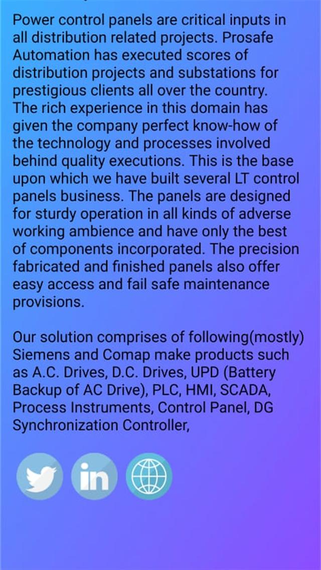 Prosafe Automation