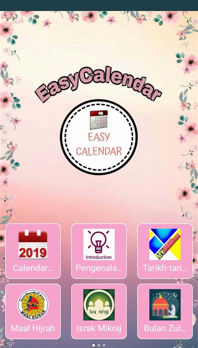 EasyCalendar