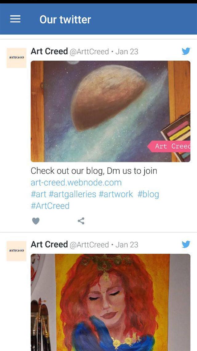 Art-Creed Platform
