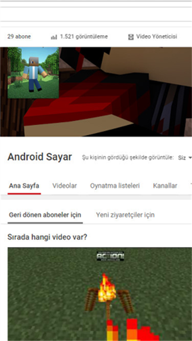 Android Sayar | Youtube