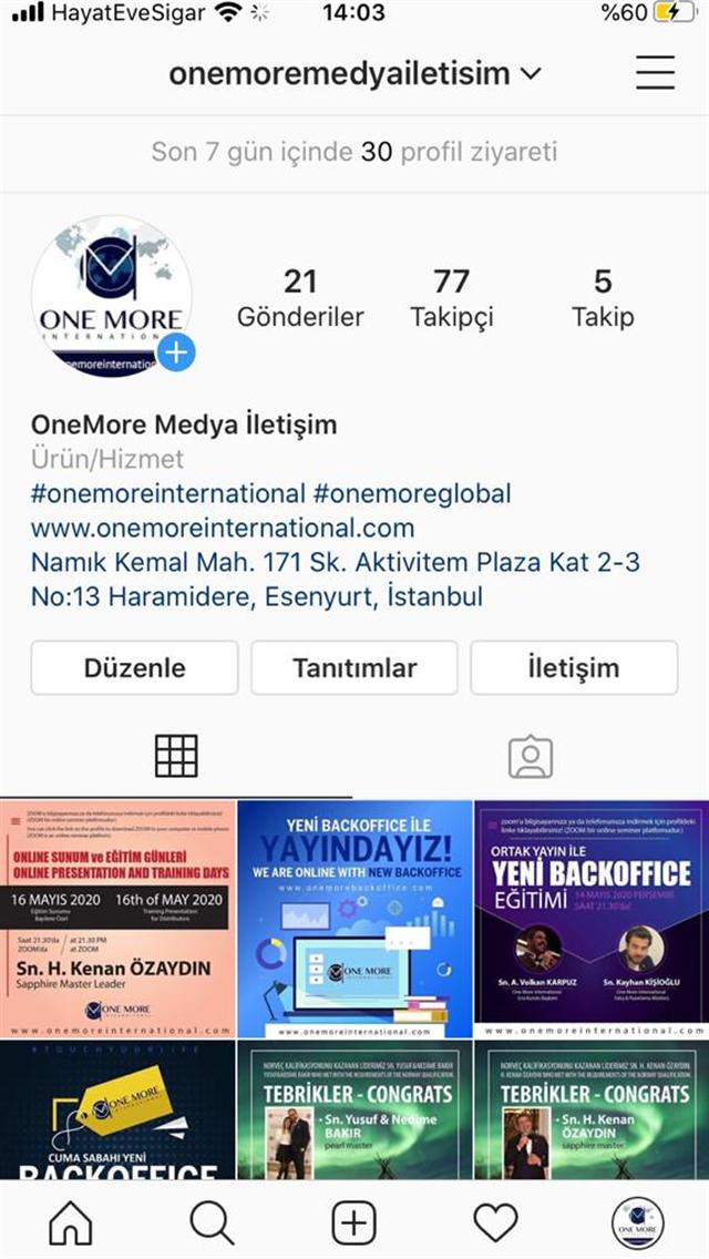 OneMore İnternational