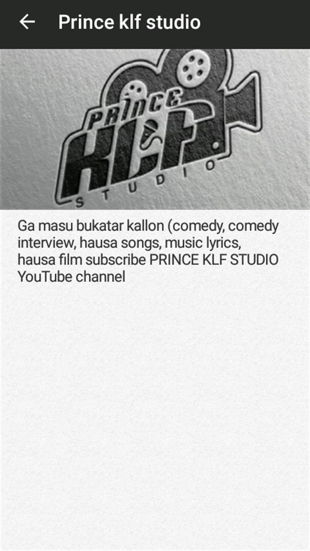 Prince klf studio