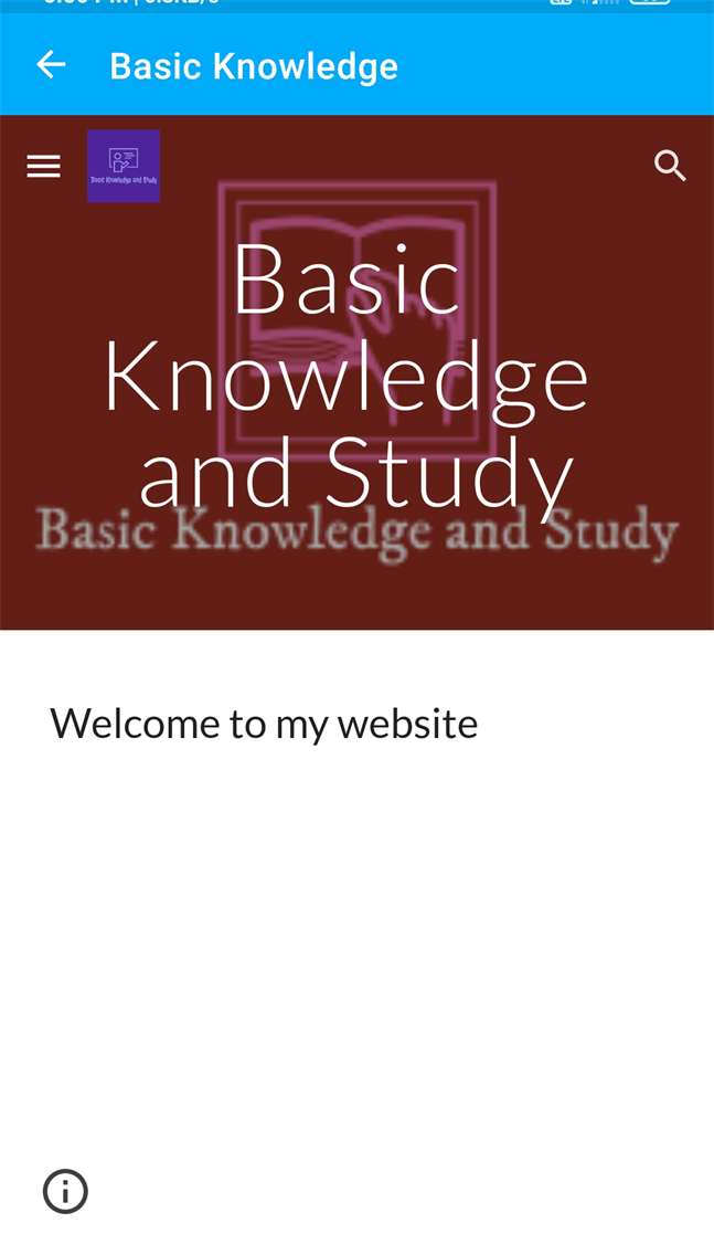 Basic knowledge and business