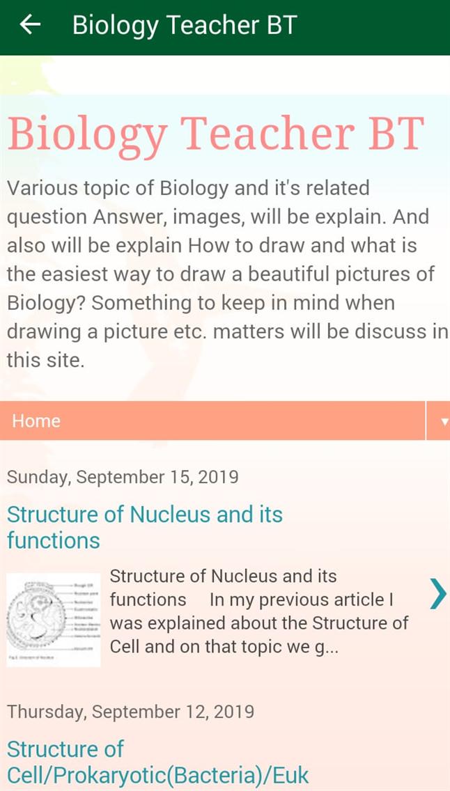 Biology Teacher BT