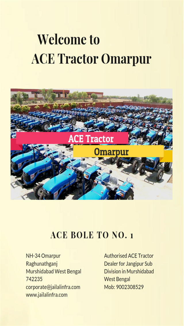 ACE Tractor Omarpur