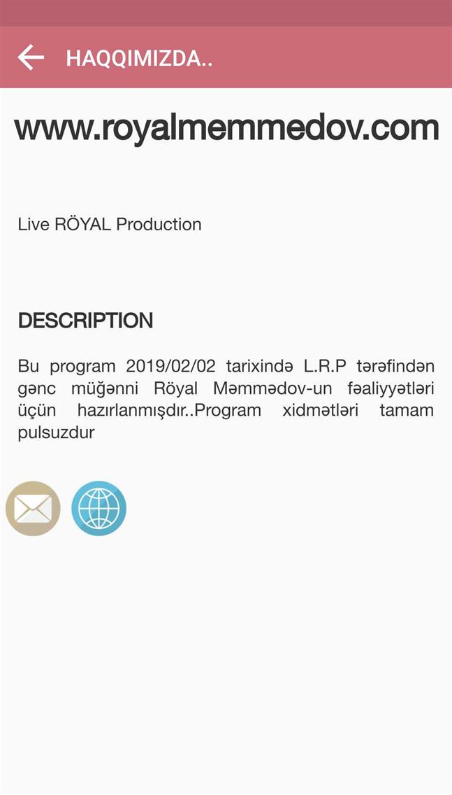 L.R.P Royal Memmedov
