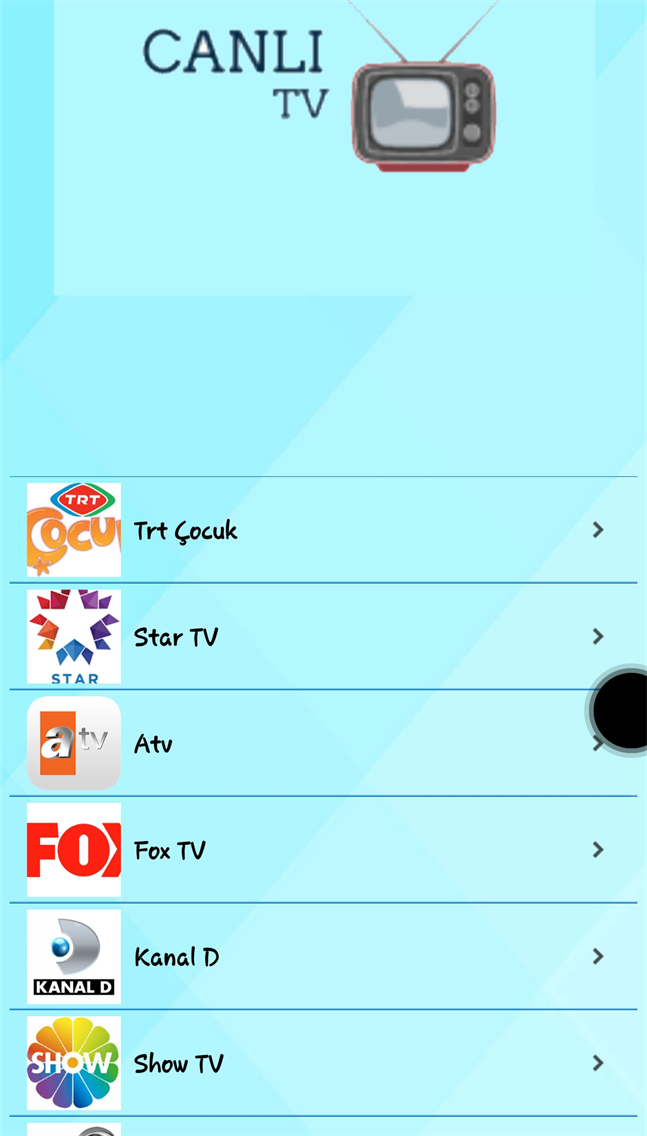 Canlı TV