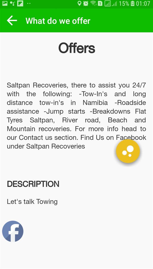 Saltpan Recoveries
