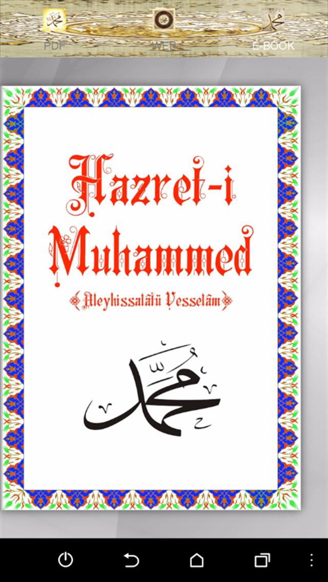 Hz Muhammed Mustafa (s.a.v.)