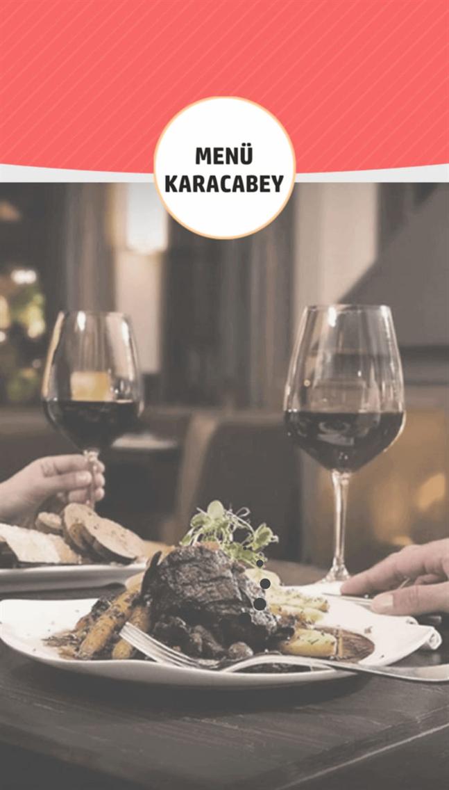 Menü Karacabey