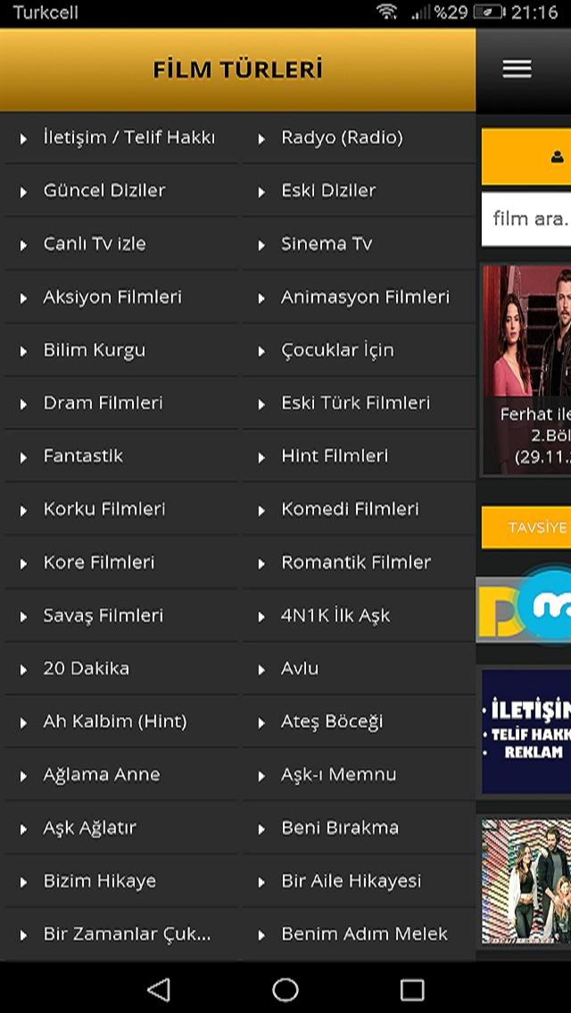 Canlı Tv-Sinema