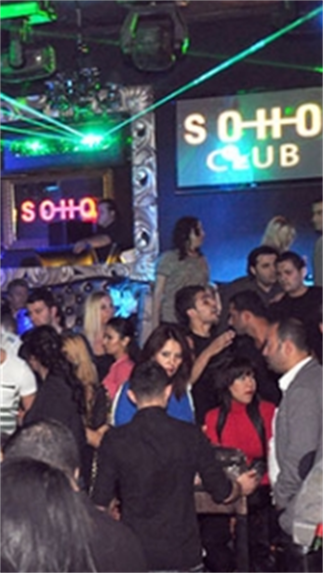 Soho Club - Sensation Bar