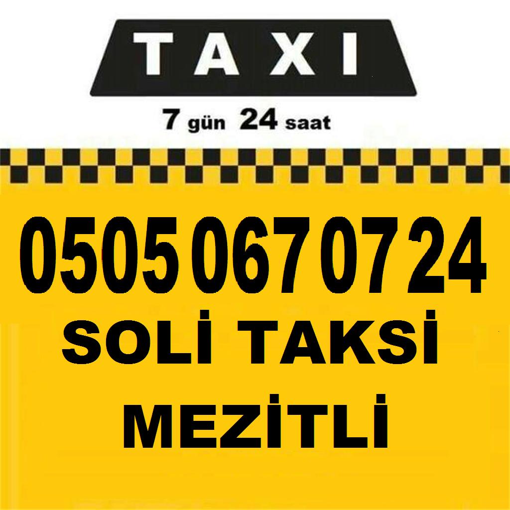 Soli Taksi Mezitli 7 24