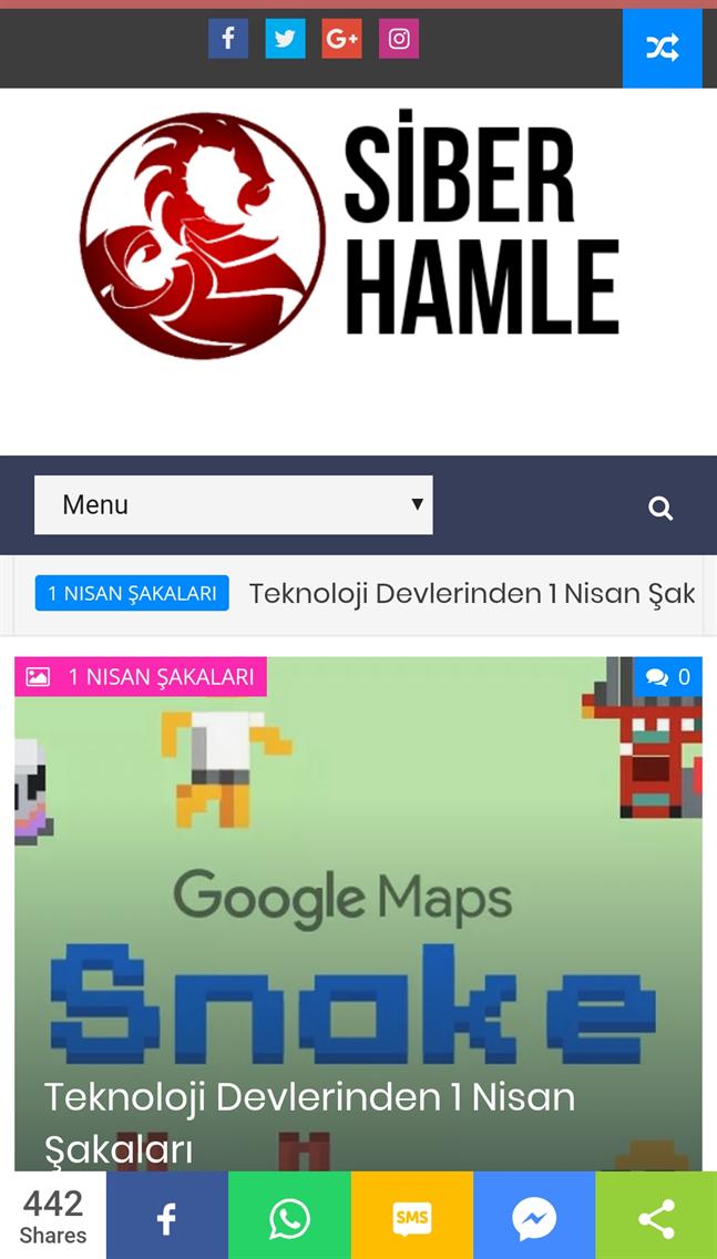 Siber Hamle