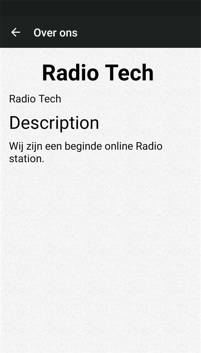 Radio Tech